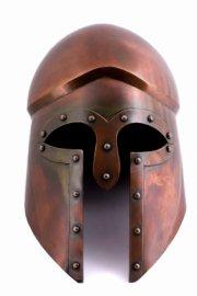bronze corinthian helmet