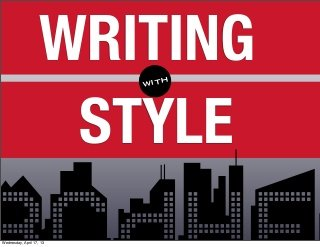 writingwithstyle