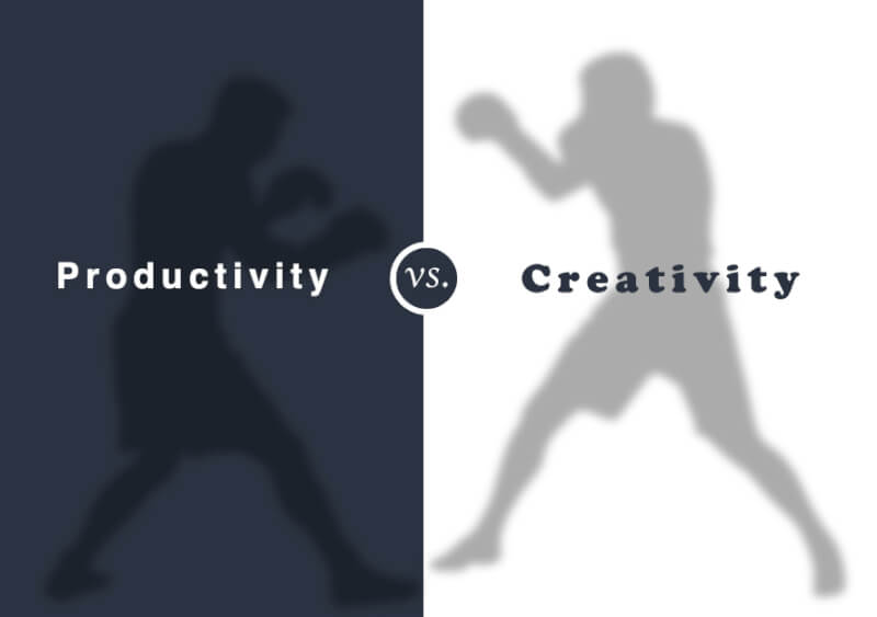 Breaking the Wall between Productivity and Creativity